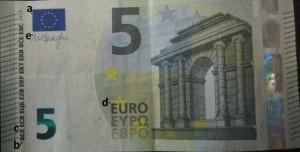 5 euro contraffatti