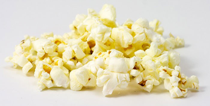 Pop corn al cioccolato