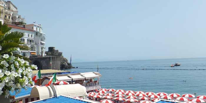 Come arrivare ad Amalfi