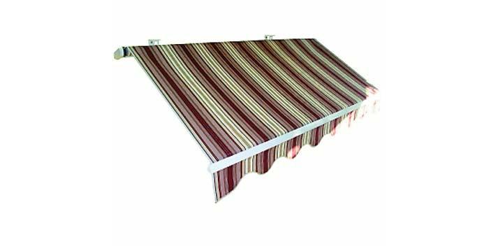 Montare le tende da balcone