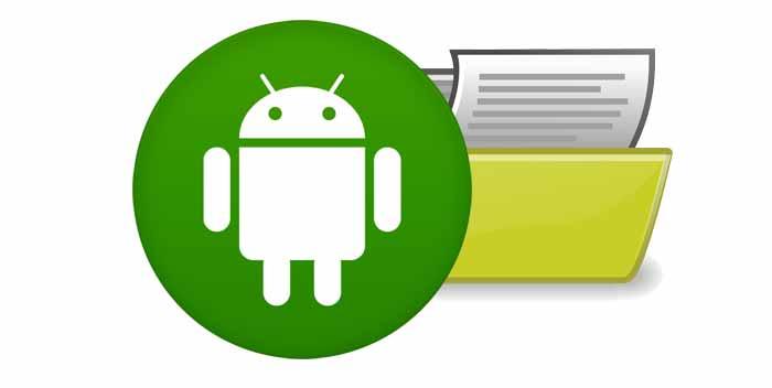 Creare cartelle su Android