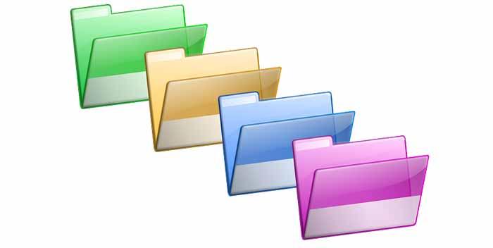 Riconoscere l'estensione di un file