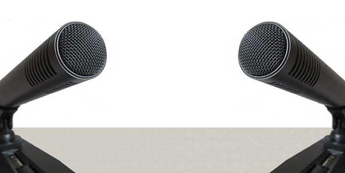 Usare doppio microfono usb
