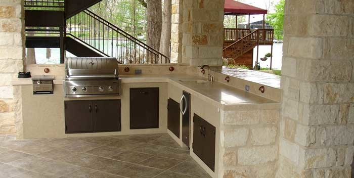 costruire una cucina in muratura