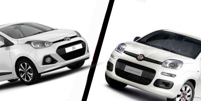 Fiat Panda vs Hyundai i10