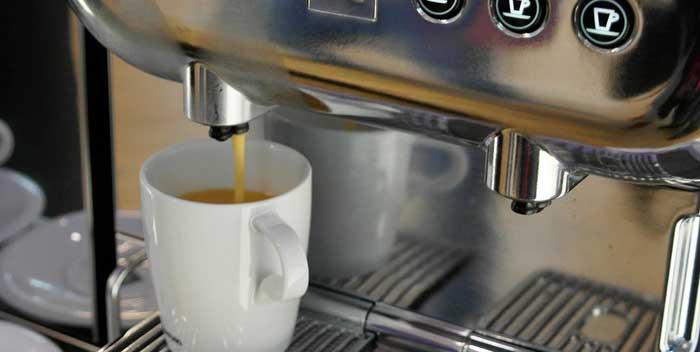 Manutenzione macchina caffè espresso