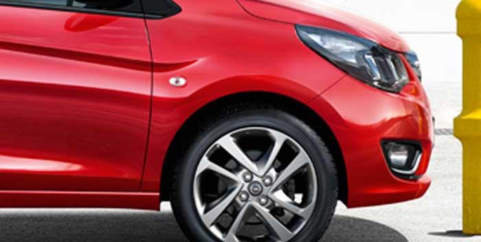 Sostituzione luce posizione Opel Karl