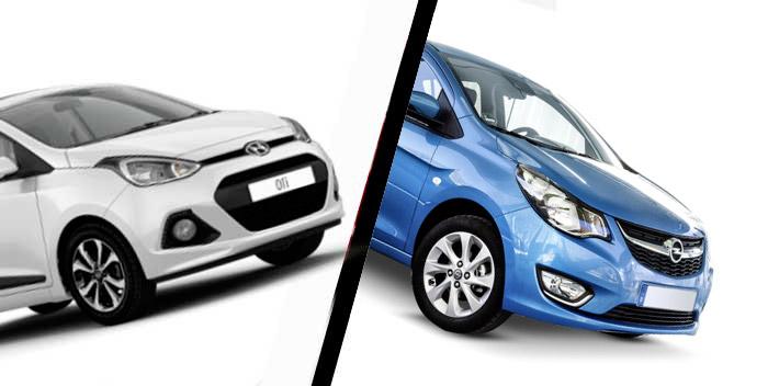 Opel Karl vs Hyundai i10