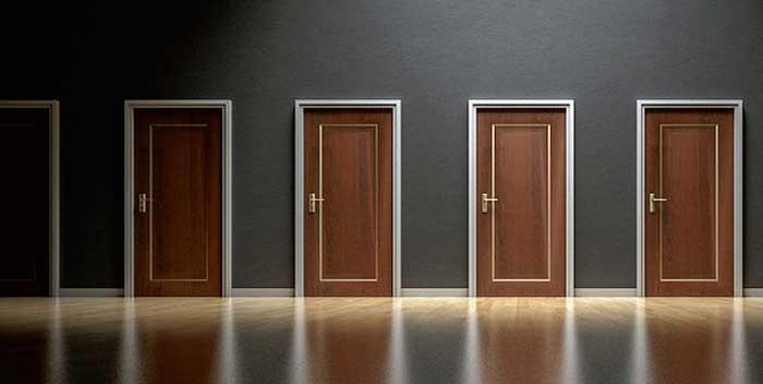 Come montare i controtelai della porta